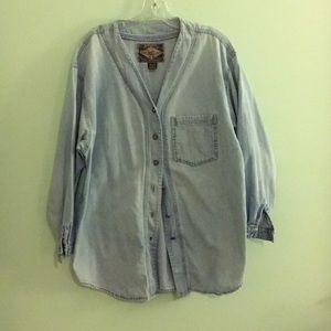 Vintage Express Jeans denim overshirt